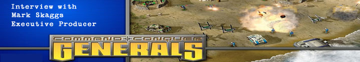 Game Over - Interview - Command & Conquer: Generals (c) Electronic Arts