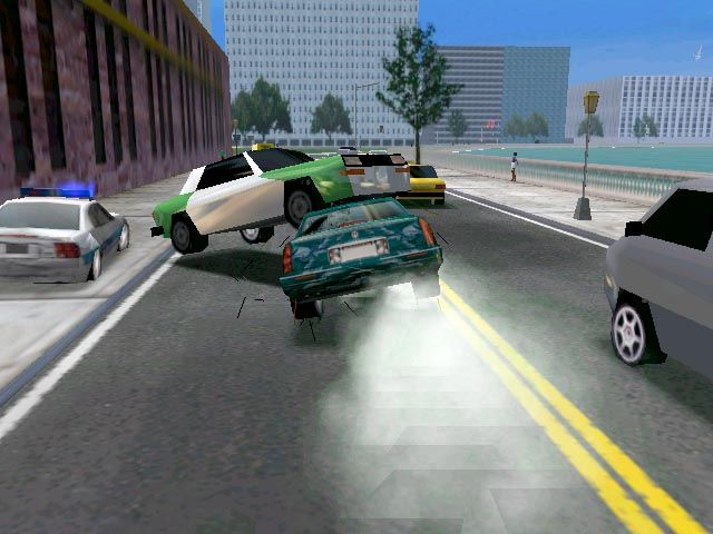 Free Online Midtown Madness Car Games