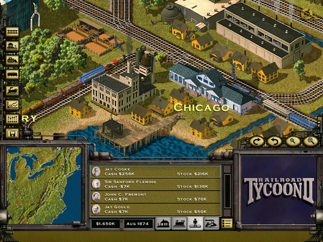 لعبة Railroad Tycoon كامله